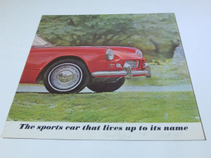 TRIUMPH SPITFIRE U.S.A issue 4 page brochure.